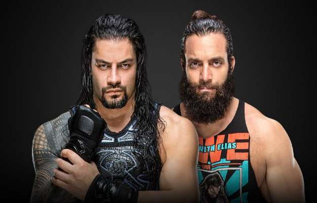 Roman Reigns se enfrentará a Elias en WWE Money in the Bank