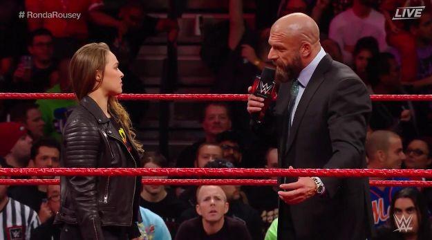 Ronda Rousey WWE Elimination Chamber