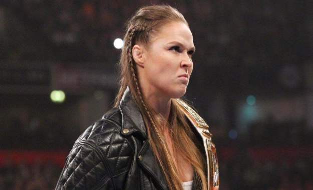 Ronda Rousey WWE SmackDown Live