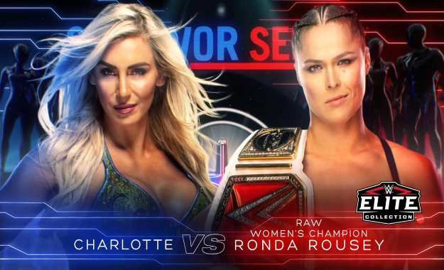 Ronda Rousey se enfrentará a Charlotte Flair en Survivor Series
