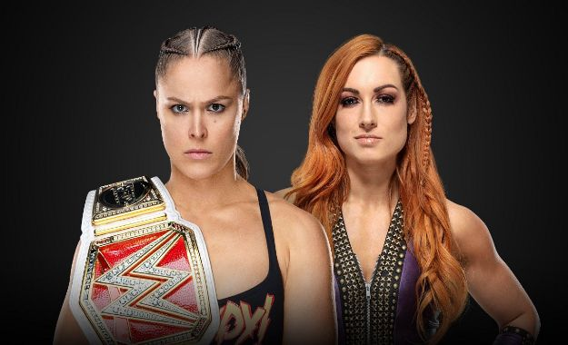 Ronda Rousey vs Becky Lynch Wrestlemania 35