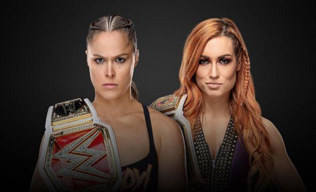 Ronda Rousey vs Becky Lynch en Survivor Series