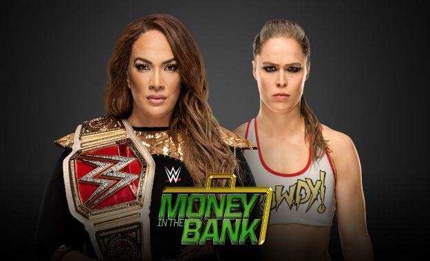 Ronda Rousey vs Nia Jax MITB