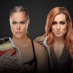 Ronda Rousey vs. Charlotte Flair Wrestlemania 35