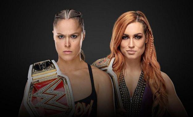 Ronda Rousey vs. Charlotte Flair Wrestlemania 35