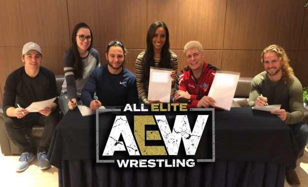 Roster momentáneo de All Elite Wrestling