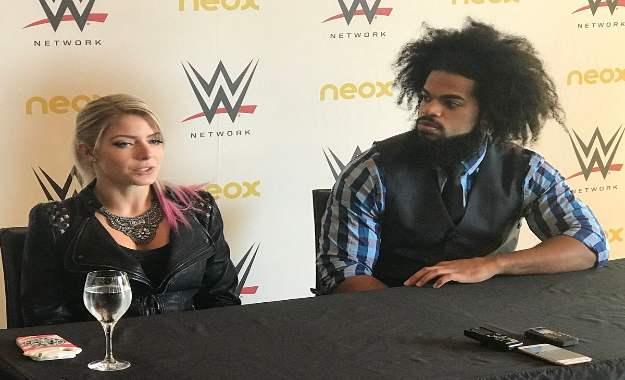 Rueda de prensa WWE Zaragoza