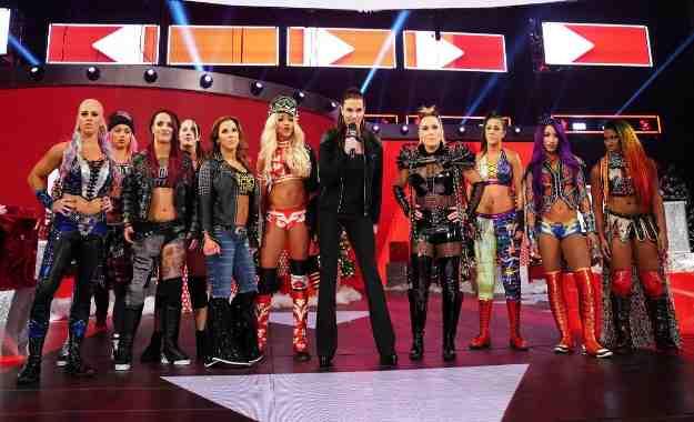 Ruleta Femenina en WWE RAW