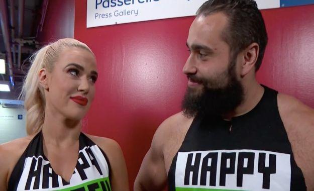 Rusev defiende a Lana tras acusaciones de fanáticos por un botch en el Mixed Match Challenge
