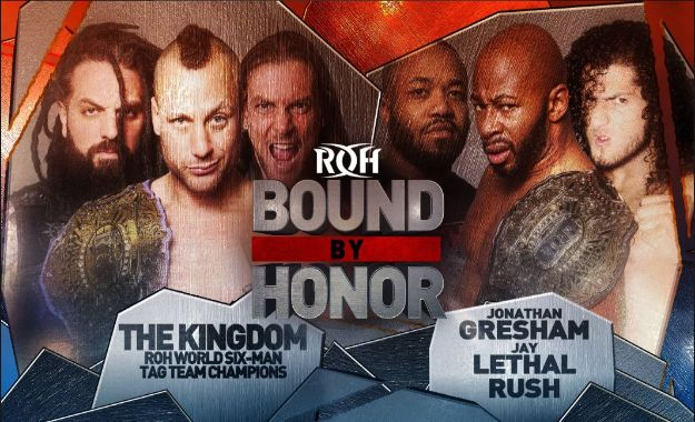 Rush aparece en la lucha Estelar de ROH Bound By Honor