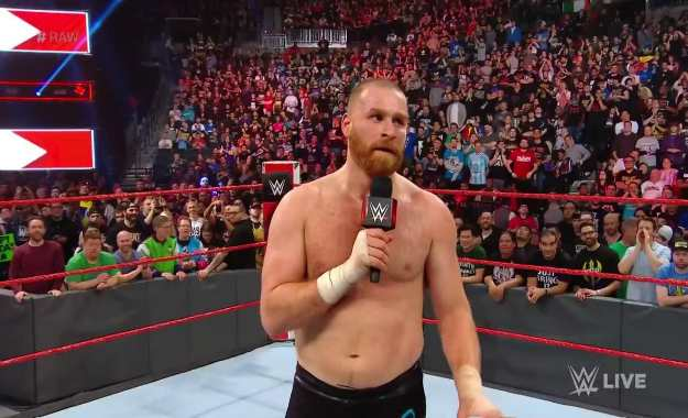 Sami Zayn regresa a WWE RAW