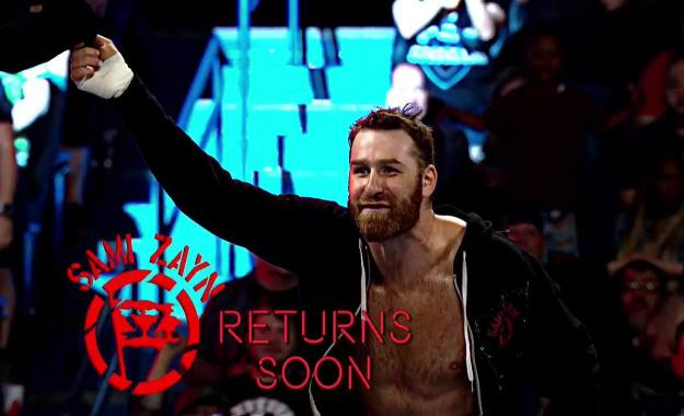 Sami Zayn hará pronto su regreso a WWE RAW