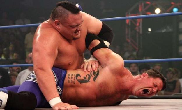 Samoa Joe vs. AJ Styles