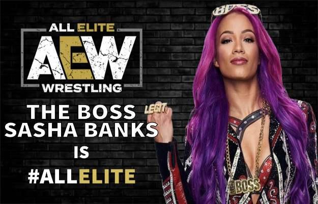 Sasha Banks AEW