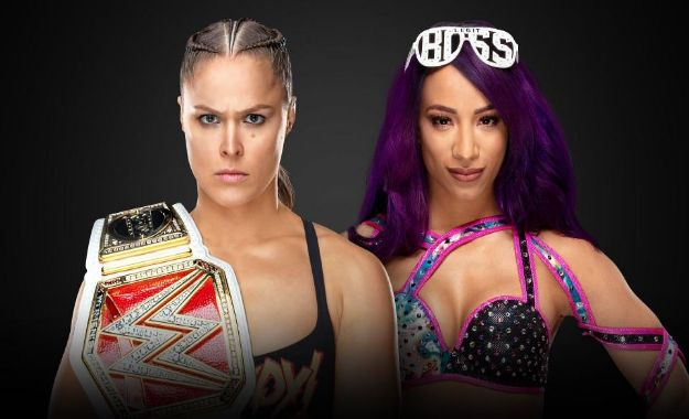 Sasha Banks se enfrentará a Ronda Rousey en Royal Rumble por el RAW Women's Championship