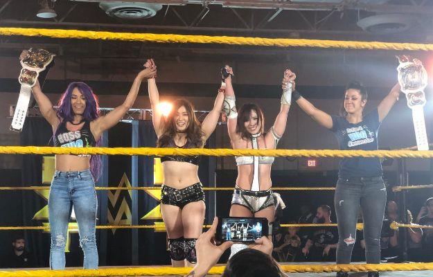 Sasha Banks y Bayley en NXT