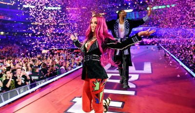 Sasha Banks y Snoop Dogg