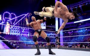 Seth Rollins vs Triple H