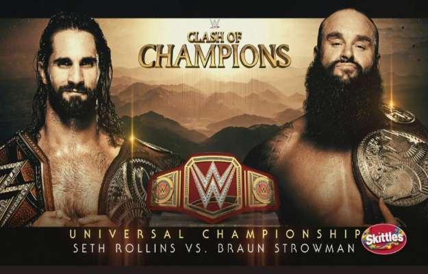 Seth Rollins vs Braun Strowman en WWE Clash Of Champions 2019
