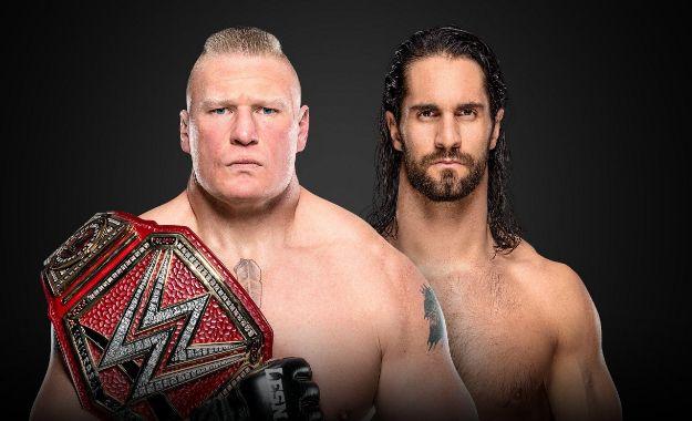 Seth Rollins vs Brock Lesnar Wrestlemania 35