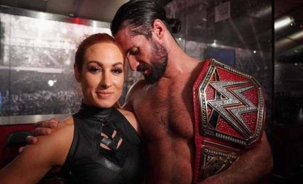 Seth Rollins y Becky Lynch hablan sobre su matrimonio