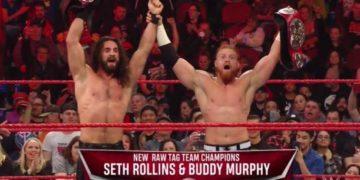 Seth Rollins y Buddy Murphy nuevos campeones por parejas de RAW