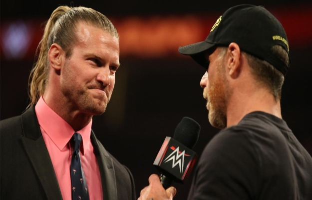 Shawn Michaels vs Dolph Ziggler