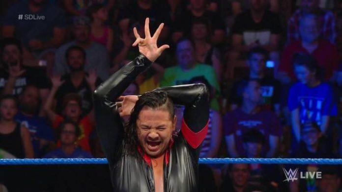 Shinsuke Nakamura derrota a Finn Bálor en SmackDown Live