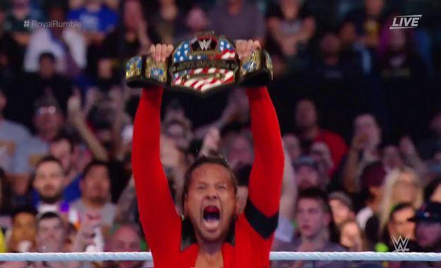 Shinsuke Nakamura es el nuevo campeón de los Estados Unidos