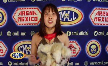 Shoko Nakajima Arena México