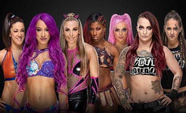 Siete luchadoras confirmadas para Royal Rumble
