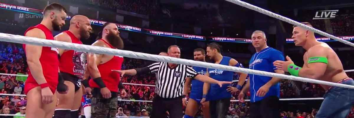 SmackDown vs RAW Survivor Series 2017