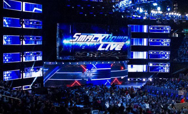 luchadora WWE SmackDown