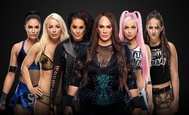Sonya Deville y Mandy Rose Elimination Chamber