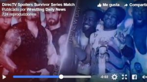 Spoiler Survivor Series 2