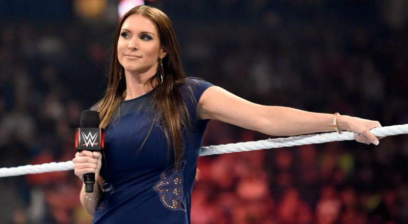 Stephanie McMahon en Wrestlemania 34