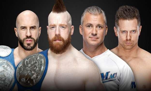 The Bar defenderán los campeonatos por parejas de Smackdown Live contra The miz y Shane McMahon en Royal Rumble