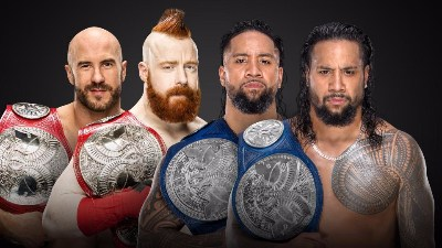 The Bar vs. The Usos Survivor Series