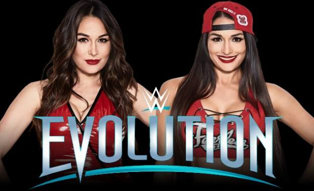 The Bella Twins estarían en WWE Evolution
