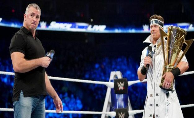 The Miz y Shane McMahon Best in The World