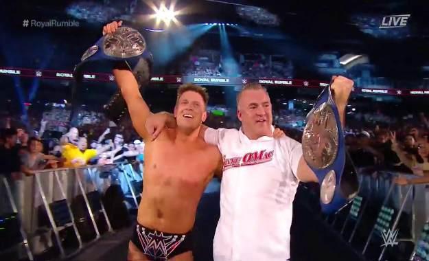 The Miz y Shane McMahon son los nuevos campeones por parejas de Smackdown