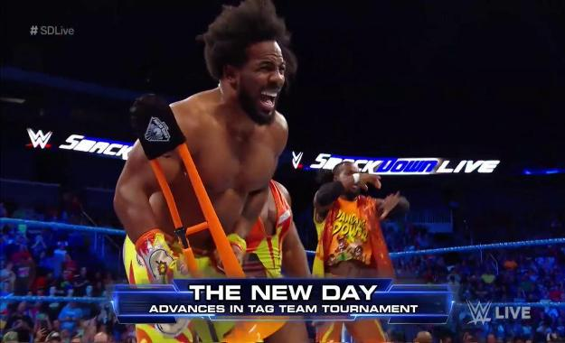 The New Day avanzan a la final del torneo para retar a los Bludgeon Brothers en WWE Summerslam