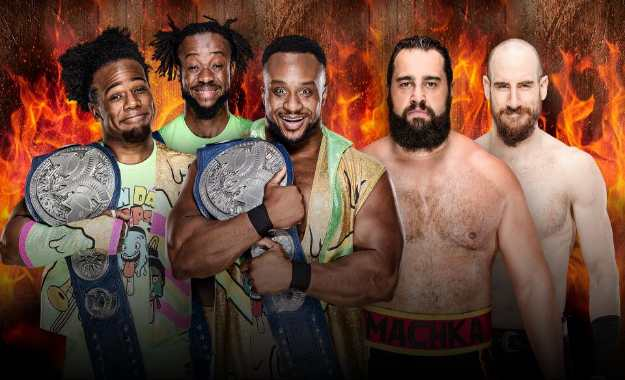 The New Day se enfrentarán a Rusev Day por los Smackdown Tag Team Championship en Hell in a Cell