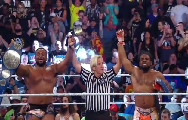 The New Day son los nuevos campeones tag team de SmackDown Live en WWE Extreme Rules