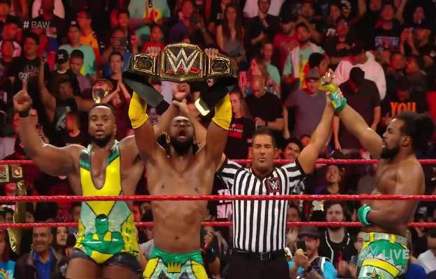 The New Day triunfa en WWE RAW antes de Stomping Grounds