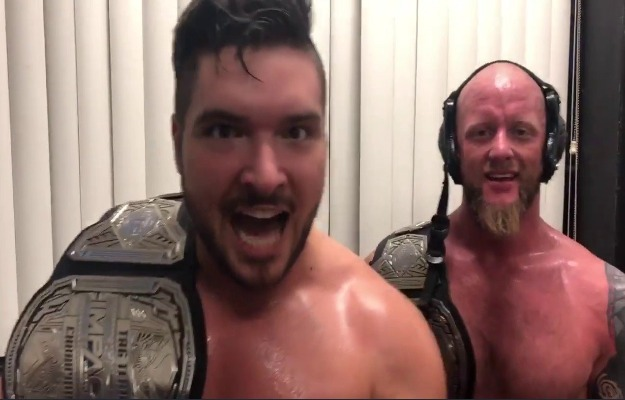 The North retienen los IMPACT Tag Team Championships en Slammiversary XVII
