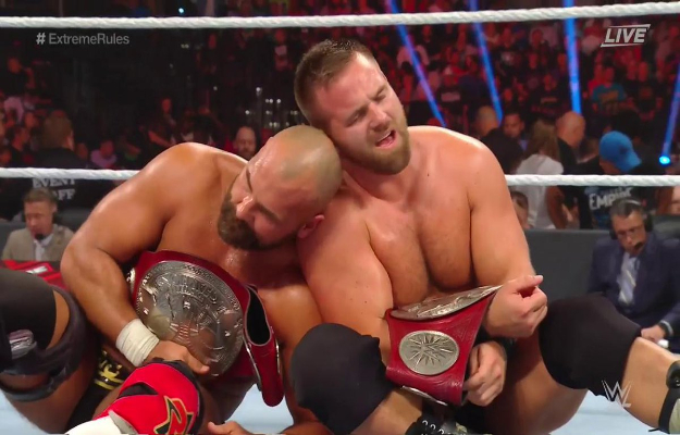 The Revival retienen los RAW Tag Team Championship en WWE Extreme Rules