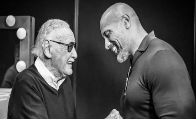 The Rock manda un emotivo mensaje de despedida a Stan Lee