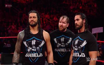The Shield destrozaron a The Miz en RAW