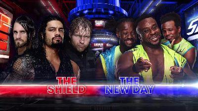 Survivor Series The Shield vs New Day